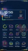 Cosmic Ride Hola Launcher QMobile Noir W8 Theme