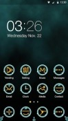 Circuit Hola Launcher QMobile Noir W8 Theme