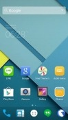 Android Lollipop Dodol Launcher Sharp Aquos S3 mini Theme