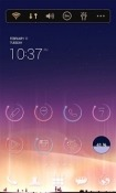 Aurora Dodol Launcher Alcatel U5 Theme