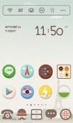 Download Free Paris Macaron Dodol Launcher Mobile Phone Themes