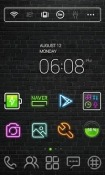 Neon Sign Dodol Launcher Android Mobile Phone Theme