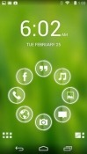 Glass Smart Launcher Cat S30 Theme