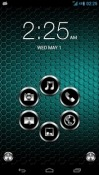 Metal Smart Launcher Samsung Galaxy M01 Theme