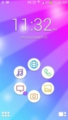Colorful Smart Launcher Celkon A59 Theme