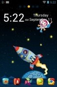 Space Go Launcher Xiaomi Redmi Note 6 Pro Theme