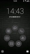 Touch Smart Launcher Samsung Galaxy A71 5G UW Theme