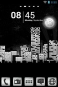 Droid City Go Launcher Oppo A72 5G Theme