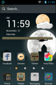 Zombie Hola Launcher Android Mobile Phone Theme