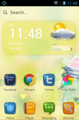 My Heart Belongs To You Hola Launcher BLU Tank Xtreme Theme