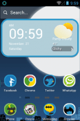 Dark Hero Hola Launcher Android Mobile Phone Theme