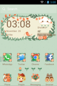 The Little Adventurer Hola Launcher HTC Wildfire E2 Theme