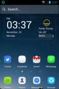 Silent Hola Launcher Honor 8C Theme