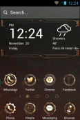 Mechanical Hola Launcher Android Mobile Phone Theme