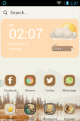 Fusion China Hola Launcher Android Mobile Phone Theme