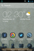 Magic Legend Hola Launcher QMobile Smart View Max Theme