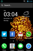 Colorful OS Pro Hola Launcher QMobile Smart View Max Theme