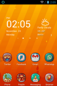 Hola Day Hola Launcher BLU Studio X8 HD Theme