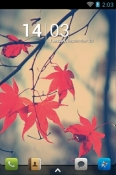 Autumn Go Launcher HTC Wildfire R70 Theme