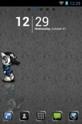Mr Lonely Go Launcher Lava Flair P1i Theme