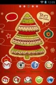 Christmas Tree Go Launcher Lava Flair P1i Theme