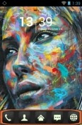 Graffiti Go Launcher Lava Iris Fuel F1 Mini Theme