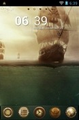Pirates Go Launcher Huawei Y8s Theme