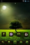 Moonlight Go Launcher Vivo X51 5G Theme