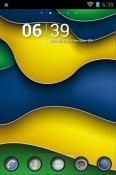 Download Free Brazil Style Go Launcher Mobile Phone Themes