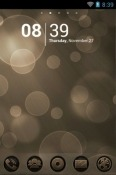 Brown Boke Go Launcher QMobile Noir W7 Theme