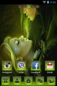 Loving Go Launcher Nokia 3.2 Theme