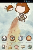 Z Love Go Launcher YU Yunicorn Theme