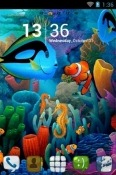 Download Free Aquarium Go Launcher Mobile Phone Themes
