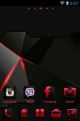 Abstract Go Launcher Ulefone Armor 9E Theme
