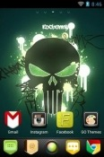 New Skull Go Launcher Android Mobile Phone Theme