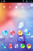 Crystal Go Launcher Huawei Enjoy Tablet 2 Theme