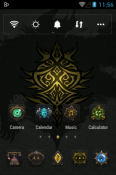 Download Free Darkness Go Launcher Mobile Phone Themes