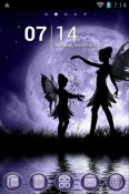 Download Free Fairy Sisters Go Launcher Mobile Phone Themes