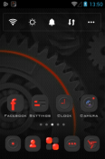 Dark Energy Go Launcher Ulefone Armor 9E Theme