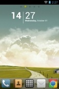 Autumn Go Launcher Huawei Y8s Theme