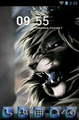 Black Lion Go Launcher Huawei Y8s Theme