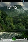 Green Forests Go Launcher Huawei Y8s Theme