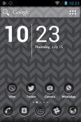 3K SR Black Icon Pack LG K41S Theme