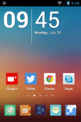 Mix Flat Icon Pack iBall Slide 3G Q1035 Theme