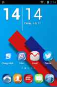 Cherry G Icon Pack Samsung Galaxy F02s Theme