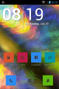 Eight Icon Pack BLU G91 Theme