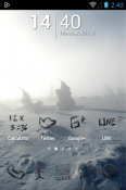 Zeon Black Icon Pack Samsung Galaxy S21 Ultra 5G Theme