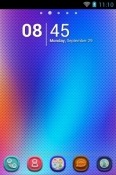 Laser Lights Go Launcher Xiaomi Mi 11 Theme