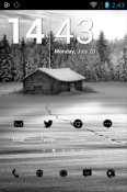 Tiny Black Icon Pack Android Mobile Phone Theme