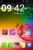 Blur Color Icon Pack Lenovo Tab M8 (FHD) Theme